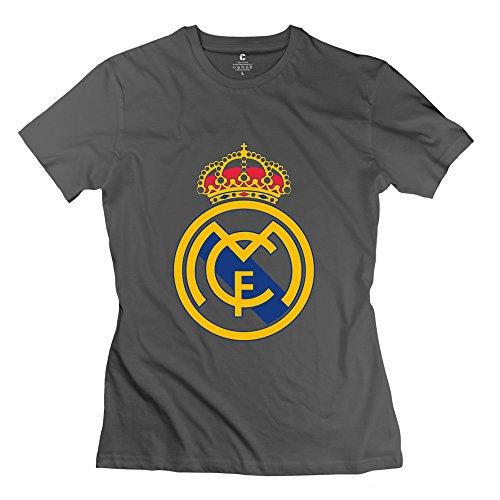 YiswレディースReal Madrid Tシャツ半袖ART...