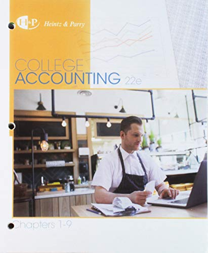 Download College Accounting, Chapters 1-9 + Study Guide and Working Papers 1337491616