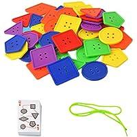 B Baosity レーシングゲーム 幾何学的 早期教育玩具 子供 ビルディングブロック おもちゃキット