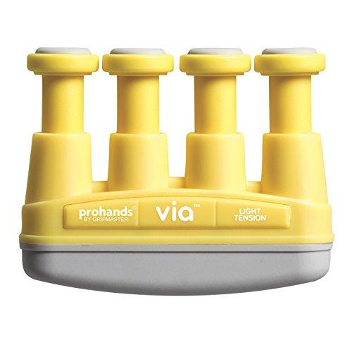 【国内正規輸入品】Prohands プロハンズ ハンドエクササイザー Via ヴィア VM-13101 ライト/YL