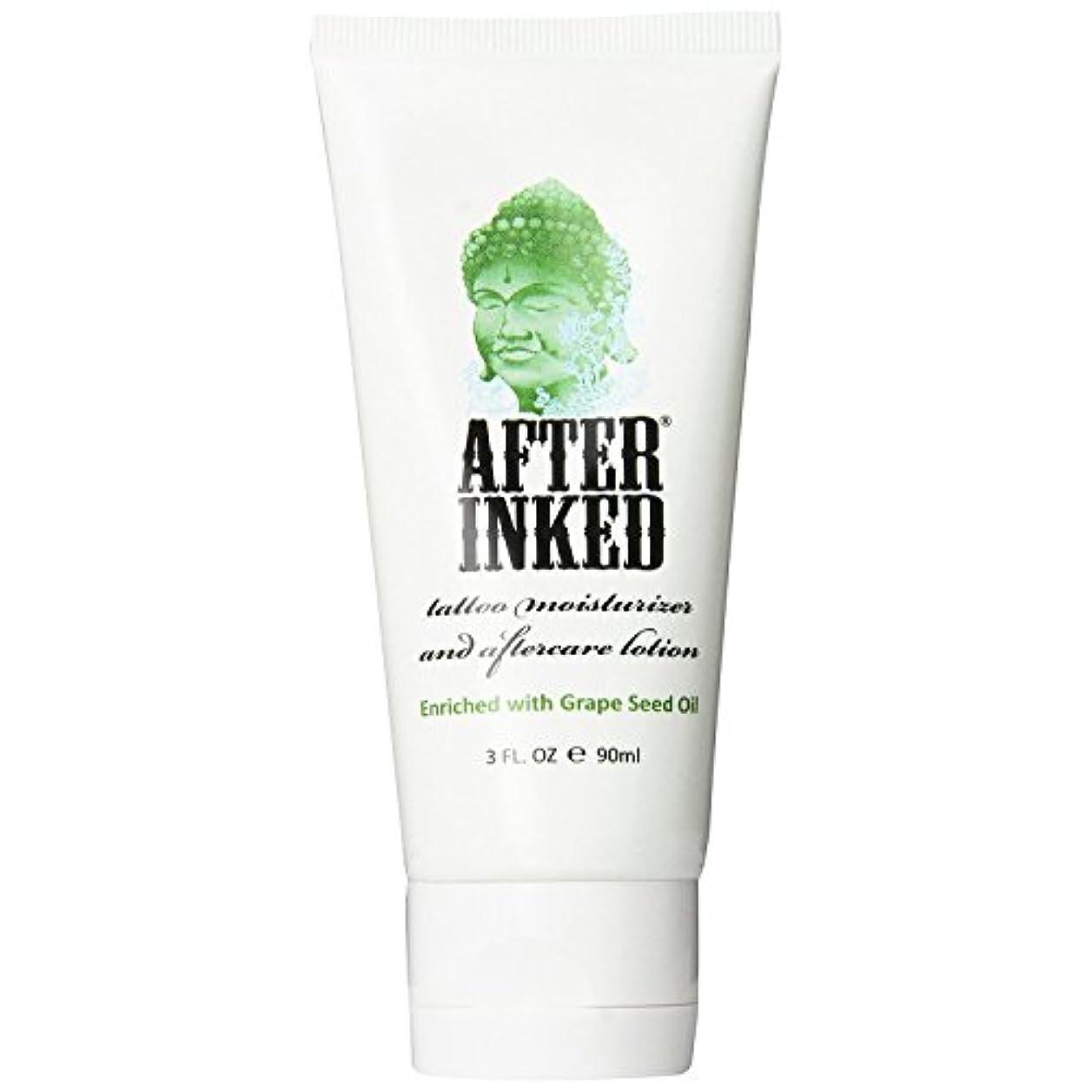 ジレンマためらう従事したAFTER INKED アフターインク タトゥー刺青アフターケア専用 保湿クリーム