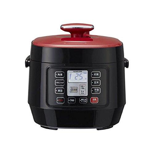 コイズミ マイコン電気圧力鍋 SC-3501/R レッド