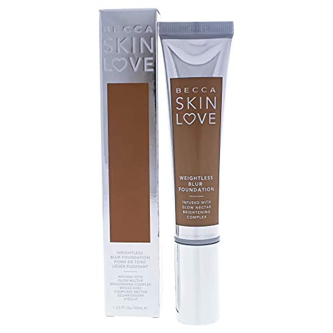 極貧贅沢なあえてベッカ Skin Love Weightless Blur Foundation - # Tan 35ml/1.23oz並行輸入品