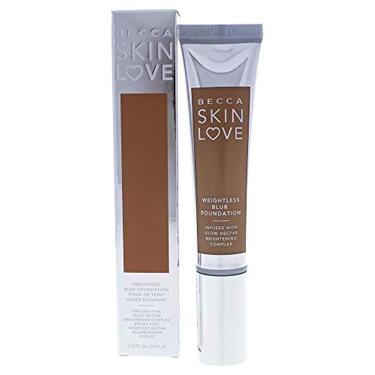 社会科道を作る輸送ベッカ Skin Love Weightless Blur Foundation - # Tan 35ml/1.23oz並行輸入品