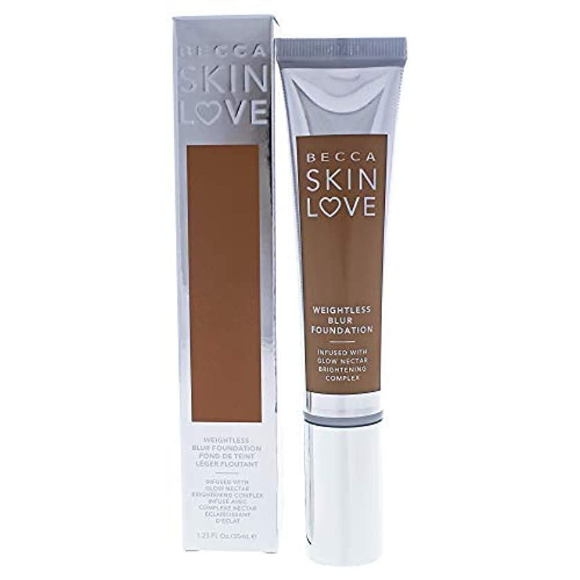 指定する星蒸気ベッカ Skin Love Weightless Blur Foundation - # Tan 35ml/1.23oz並行輸入品