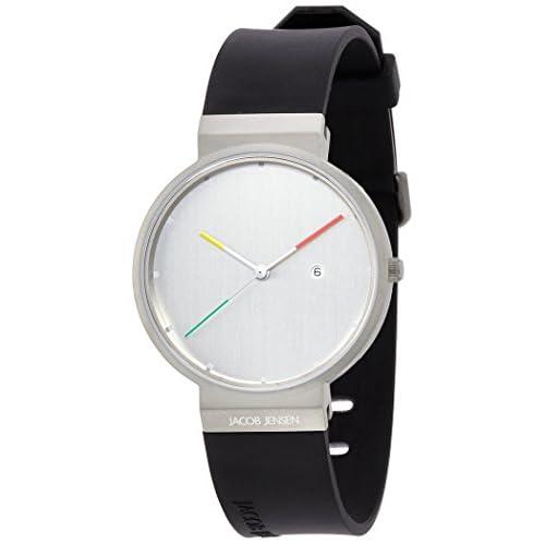 [ヤコブイェンセン]JACOB JENSEN 腕時計 Titanium 641  【正規輸入品】