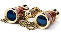 BARSKA Blueline 3x25 Opera Glass w/Necklace [並行輸入品]