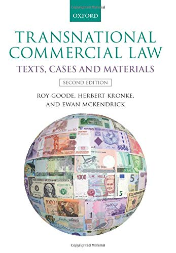 Download Transnational Commercial Law: Texts, Cases and Materials 0198735448