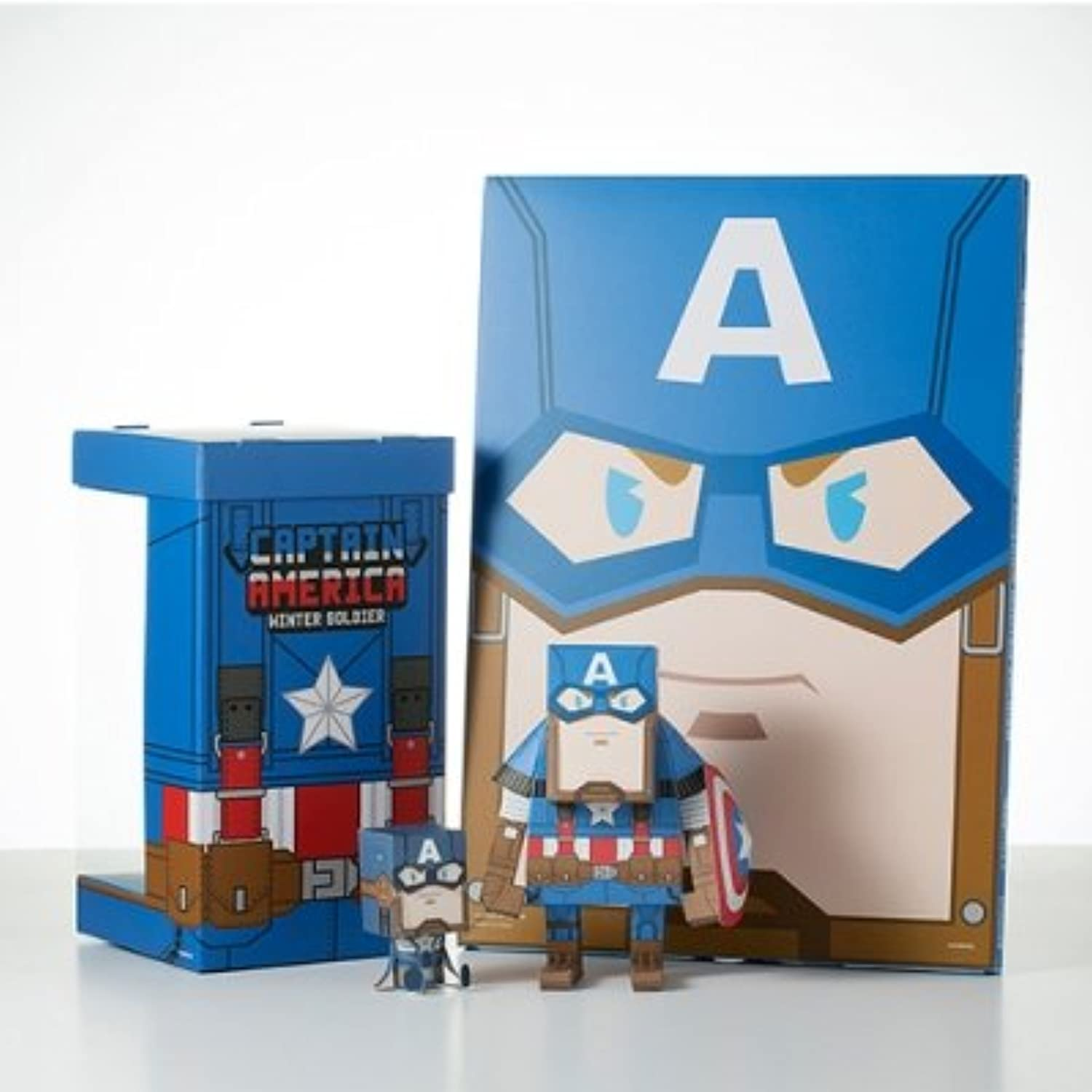 CAPTAIN AMERICA WINTER SOLDIER Paper Toy
