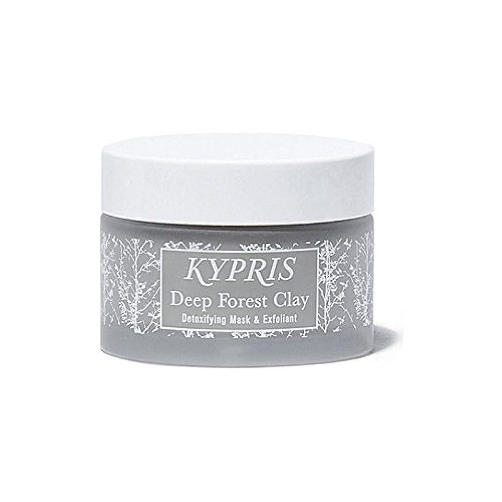 お風呂を持っているブラジャーアノイ深い森粘土を x4 - Kypris Deep Forest Clay (Pack of 4) [並行輸入品]
