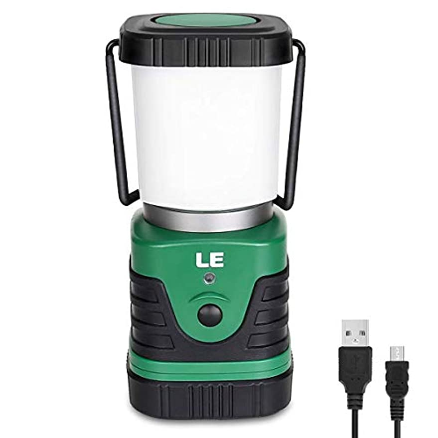 に沿っておばさん歌詞LE Portable LED Camping Lantern, 1000lm, 4 Lighting Modes, Battery Powered Tent(テント) Light for Home, Garden, Outdoor, Hiking, Emergency and More [並行輸入品]