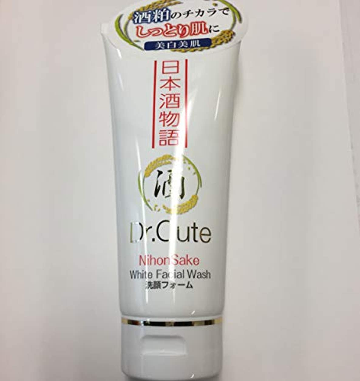 プロジェクターグラフィックメトロポリタンDr.Cute洗顔フォーム150g日本酒物語