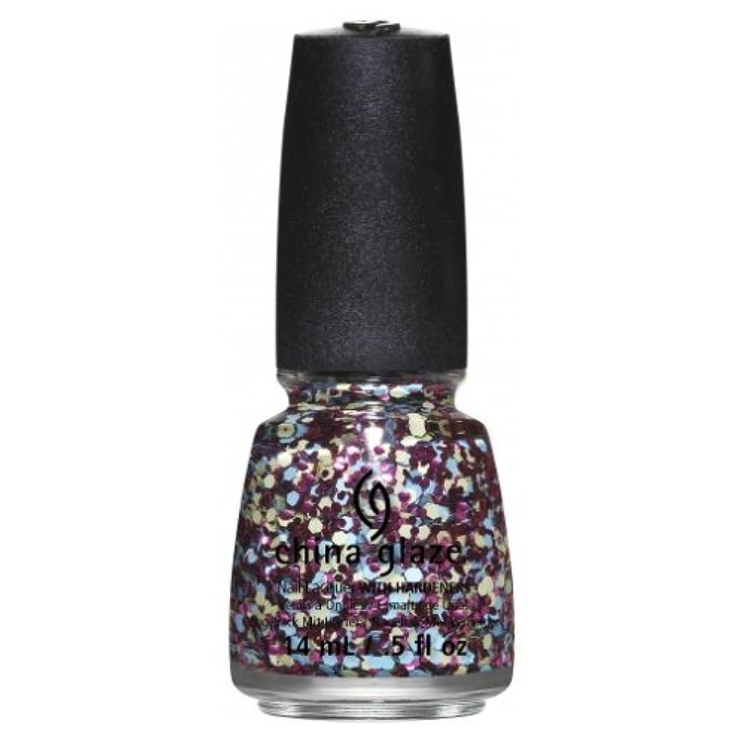 旋回光の海洋の(3 Pack) CHINA GLAZE Nail Lacquer - Suprise Collection - I'm A Go Glitter (並行輸入品)