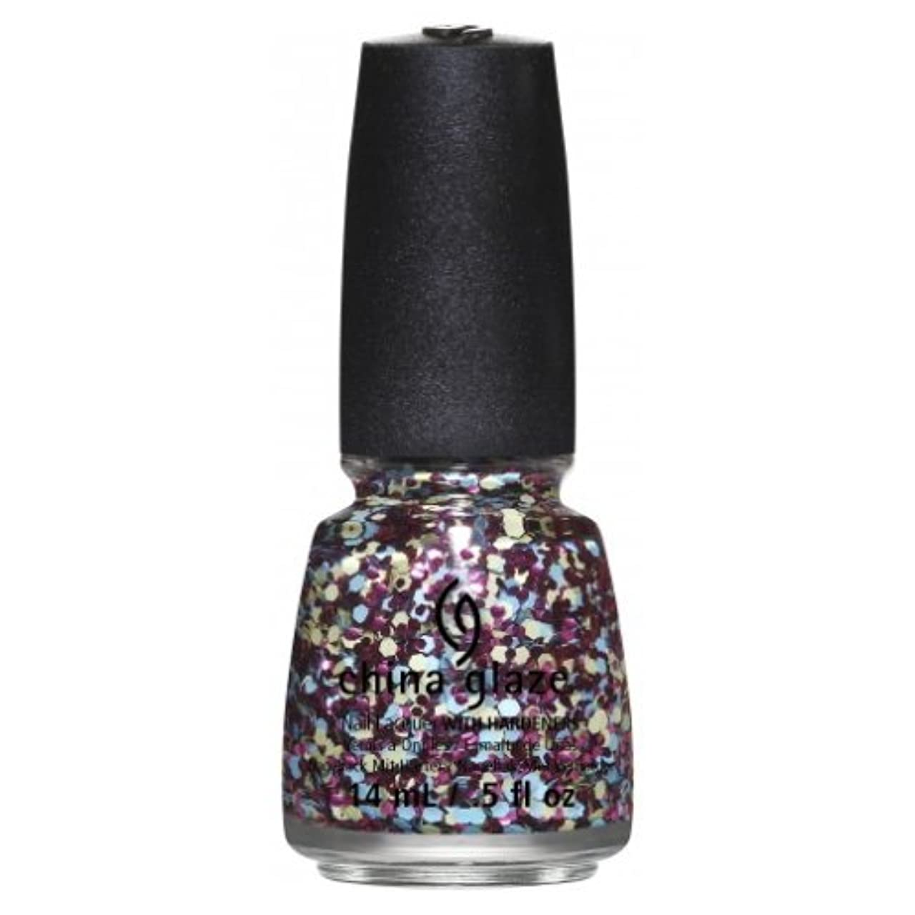 鷹ウナギ汚染(3 Pack) CHINA GLAZE Nail Lacquer - Suprise Collection - I'm A Go Glitter (並行輸入品)