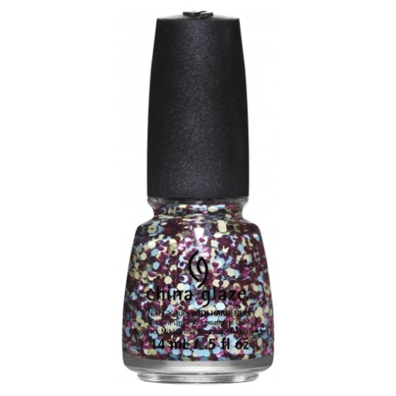 にじみ出る駐地疑い(3 Pack) CHINA GLAZE Nail Lacquer - Suprise Collection - I'm A Go Glitter (並行輸入品)