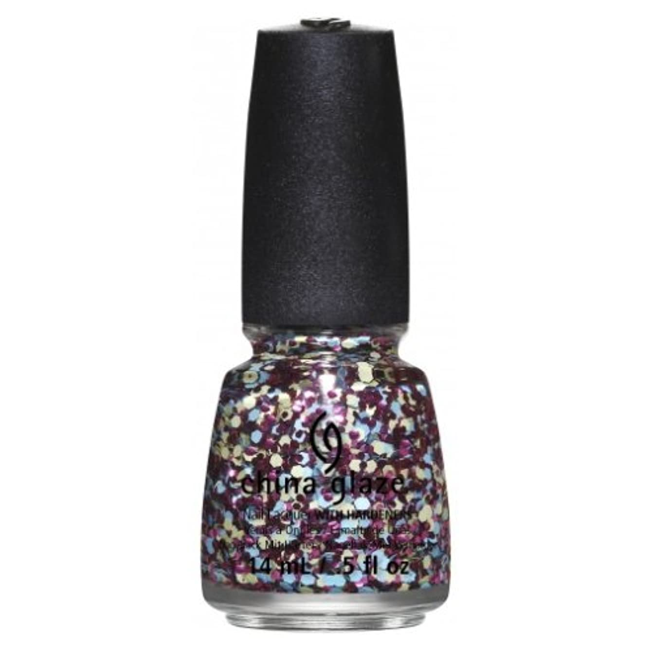 ランドリー石灰岩感嘆符CHINA GLAZE Nail Lacquer - Suprise Collection - I'm A Go Glitter (並行輸入品)
