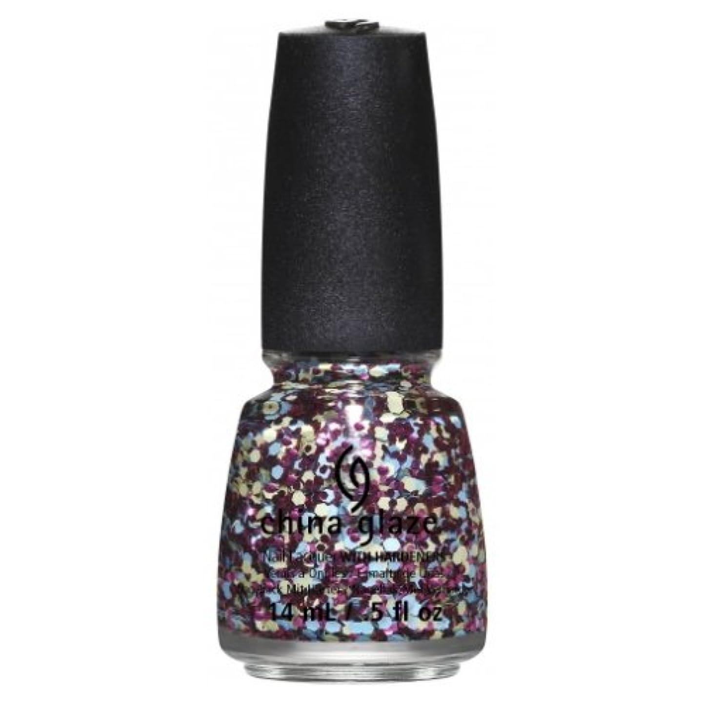 手錠想定ジャベスウィルソン(3 Pack) CHINA GLAZE Nail Lacquer - Suprise Collection - I'm A Go Glitter (並行輸入品)