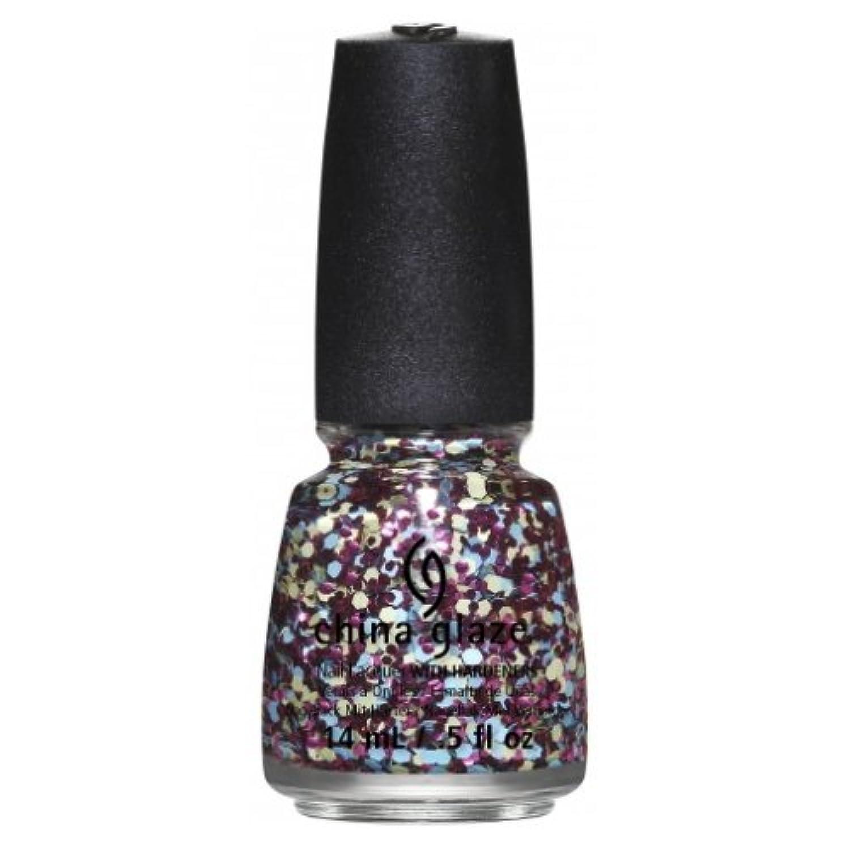 急いであなたのもの基本的な(6 Pack) CHINA GLAZE Nail Lacquer - Suprise Collection - I'm A Go Glitter (並行輸入品)