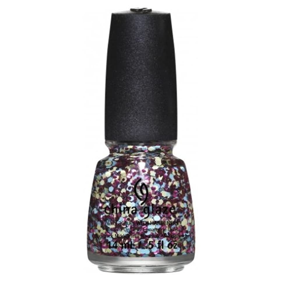進捗どこにも悲観的(6 Pack) CHINA GLAZE Nail Lacquer - Suprise Collection - I'm A Go Glitter (並行輸入品)
