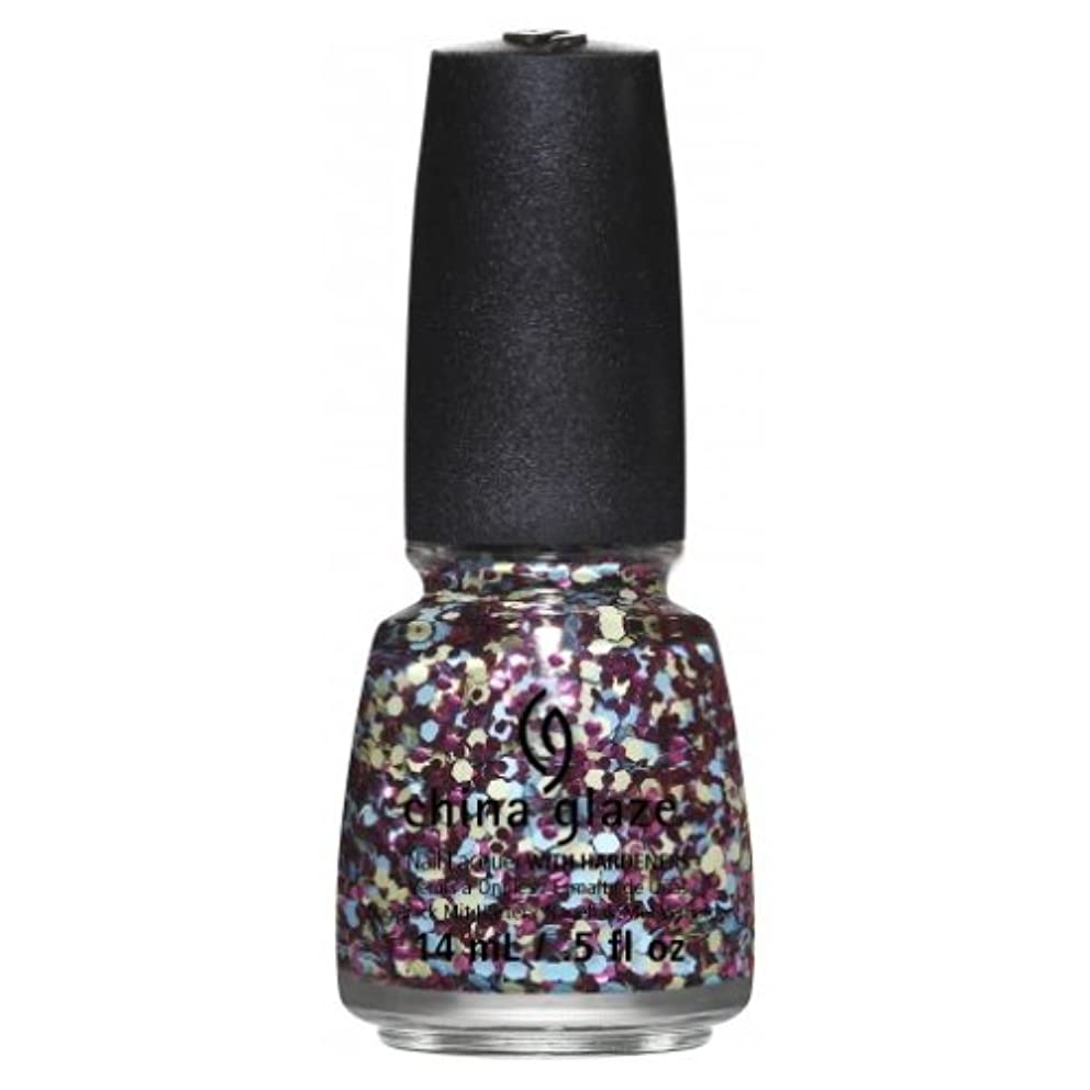 つづりスクランブル理由CHINA GLAZE Nail Lacquer - Suprise Collection - I'm A Go Glitter (並行輸入品)