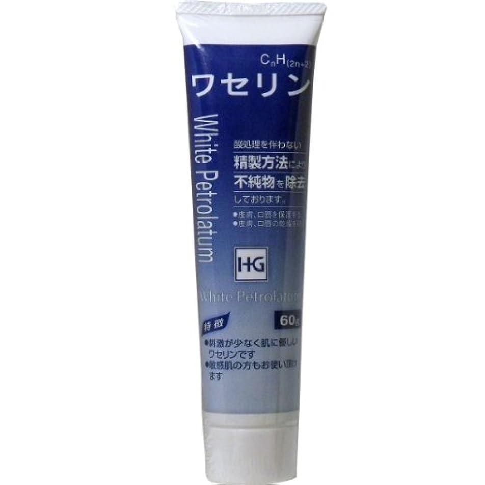 順番ビールテセウス皮膚保護 ワセリンHG チューブ 60g入 ×3個セット