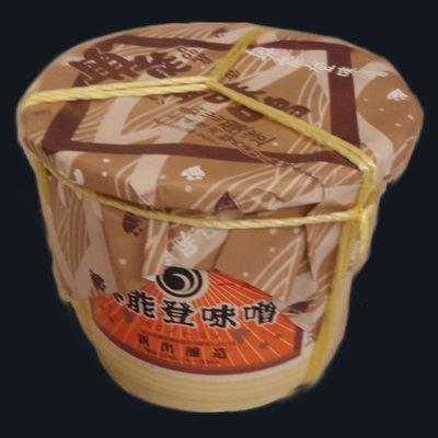 新出商店 天然醸造で自家製米麹使用 国産だから安心安全 奥能登味噌 4kgタル入り