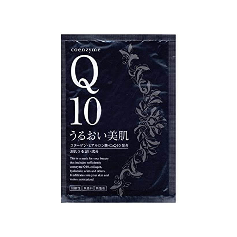 同志こっそり噴水モイスチュアフェイシャルマスクQ10 たっぷり100枚 やっぱり安心日本製
