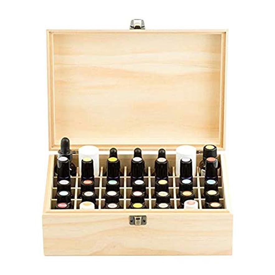 貝殻同情お嬢精油収納ケース エッセンシャルオイル収納ボックス 木製 コンパートメント木箱 35本入り 5ml?10ml?15mlのボルトに適用 junexi