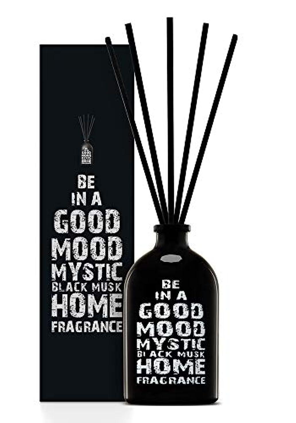 飢ジェスチャー誤解を招くBE IN A GOOD MOOD ルームフレグランス スティック タイプ BLACK MUSKの香り (100ml)