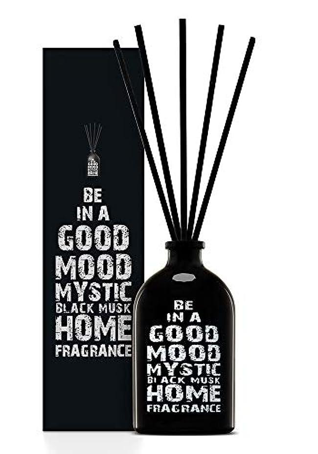 議題句読点加速度BE IN A GOOD MOOD ルームフレグランス スティック タイプ BLACK MUSKの香り (100ml)
