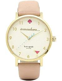 [ケイトスペード]時計 KATE SPADE METRO 5OCLK メトロ カクテル レディース腕時計ウォッチ 選べるカラー' (3)1YRU0484 ベージュ [並行輸入品]