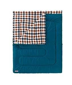 コールマン 寝袋 フリースアドベンチャースリーピングバッグ/C5 ブラウンチェック [使用可能温度5度] 2000028237