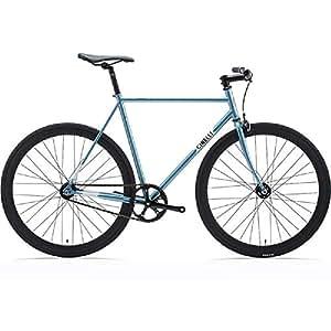 Cinelli Gazzetta Complete固定ギアバイク–ブルーmed