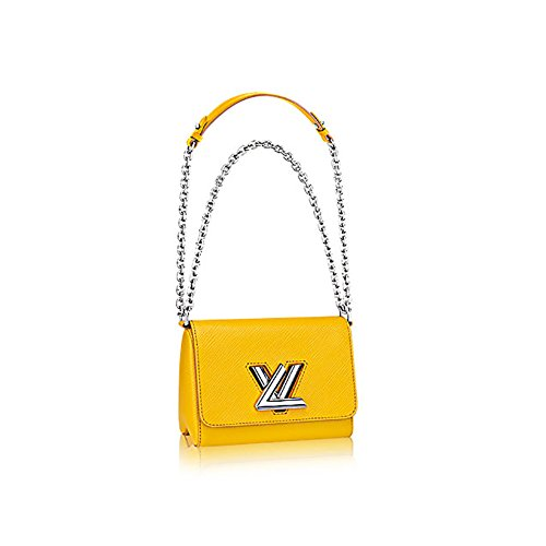 Authentic Louis Vuitton EpiレザーツイストPM PurseハンドバッグArticle : m51012Jonquille Made in France