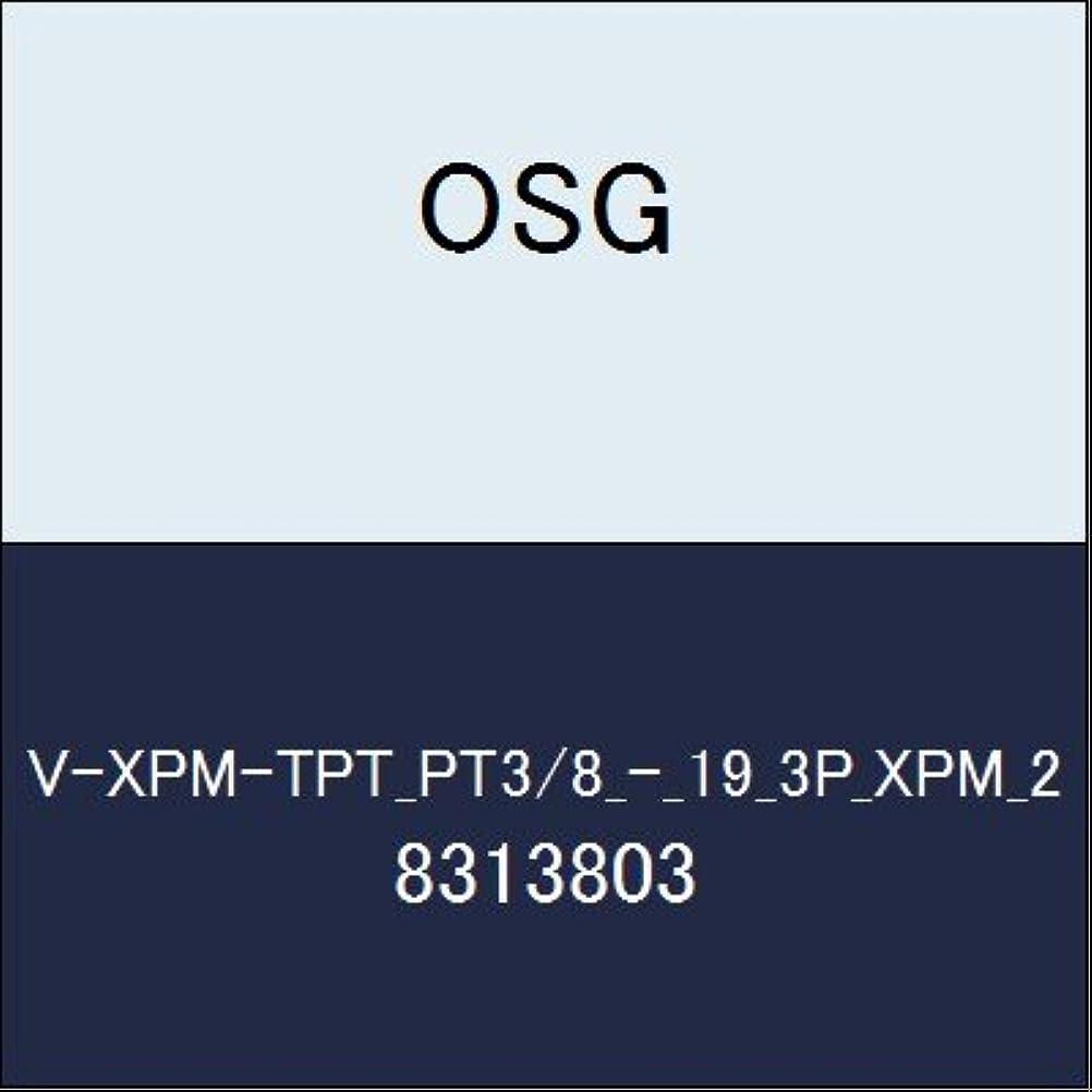 黒くする通訳ヒープOSG ハイス管用テーパタップ V-XPM-TPT_PT3/8_-_19_3P_XPM_2 商品番号 8313803