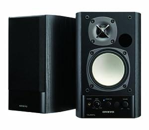ONKYO WAVIO パワードスピーカーシステム 40W+40W ハイレゾ音源対応 ブラック GX-500HD(B)