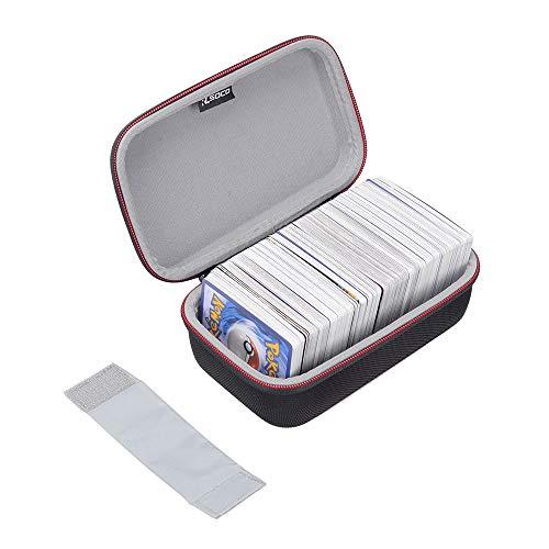 ポケモントレーディングカード対応 ケース RLSOCOカードゲーム収納ケース Pokemon Trading Cards、デュエル・マスターズ、遊戯王OCG、ウノ UNO(ウノ アタック)、ヴァイスシュヴァルツ、ドラゴンボールカードゲーム等対応 カードを400収納できます