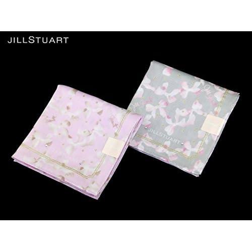 (ジル・スチュアート)JILL STUART ハンカチ JS012 (ピンク)