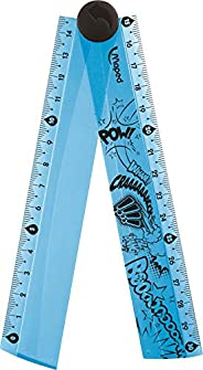 MAPED Foldable Maped Foldable Plastic Ruler, (8281010)