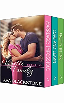 Voretti Family: Books 1-3 (Voretti Family Boxset Book 1) by [Blackstone, Ava]