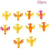 JAGENIE 10 Pcs Mini Plastic Plane Fighter Aircraft Model Desk Toy Military Gifts Kids,1PC,Random Delivery