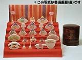 小黒三郎 円びな五段飾り (特製垂幕 桜)
