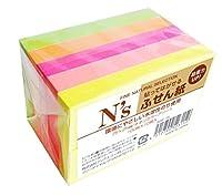 アックス N's 付箋 75×25mm ネオンカラー NSF-75 100枚×10冊