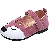 KoaWin 1-6 Years Old Girl Flat Shoes Fox Ballerina Sandals Princess Dress Shoes Baby Soft Sandals