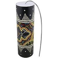 サンダーチューブ 25x7.7cm ウッド サンダーメーカー ドラムシェーカー 打楽器 ミュージカルおもちゃ スプリング付き 多色