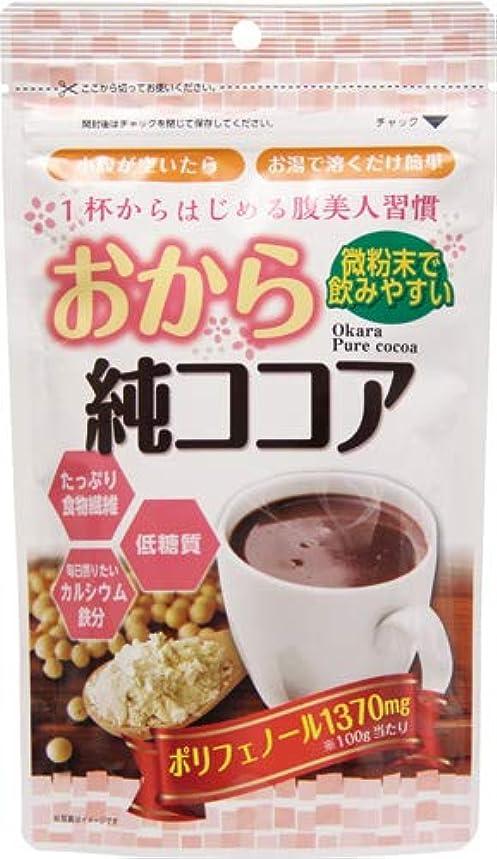 絵リスモスおから純ココア 110g