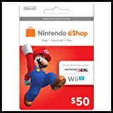 Nintendo Eshop Prepaid Card $50 for 3ds or Wii U by Unknown [並行輸入品]