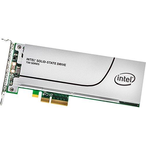 インテル SSD 750シリーズ 800GB 1/2 Height PCI-Express 3.0対応拡張カード型SSD MLC SSDPEDMW800G4X1