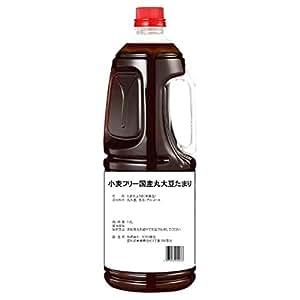 半田の旨味家 小麦フリー 国産丸大豆 たまり醤油 グルテンフリー 小麦不使用 1.8L 単品 化学調味料無添加