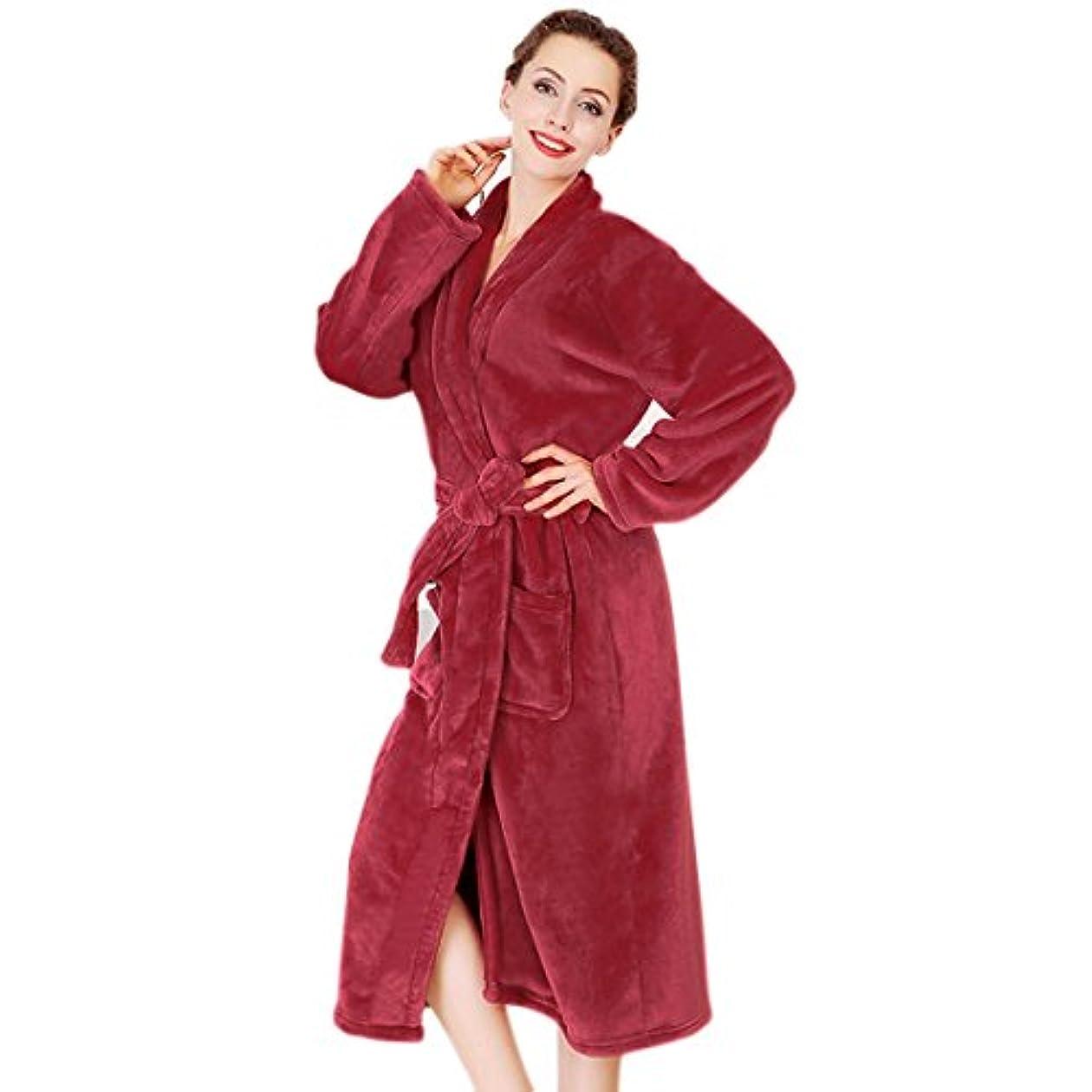 ラケットビデオ甘い(Baoxinjp)メンズ レディース パジャマ バスローブ カップル ガウン 部屋着 寝巻き 可愛い 人気 長袖 お風呂上り 男女兼用 新婚祝い ルームウエア フリーサイズ